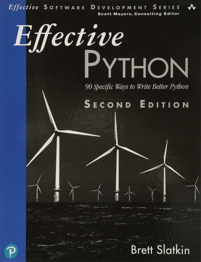 Effective Python (front cover)