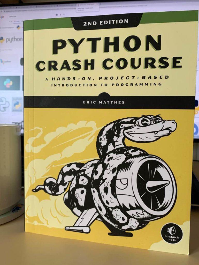 Python Crash Course (front cover)
