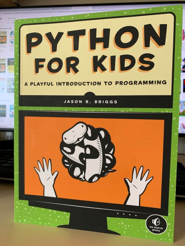 Python for Kids (front cover)